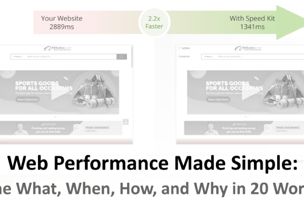 Web Performance Made Simple